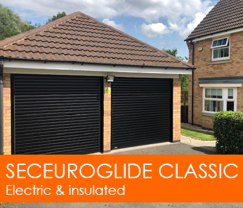 SeceuroGlide Classic Insulating Roller Garage Door