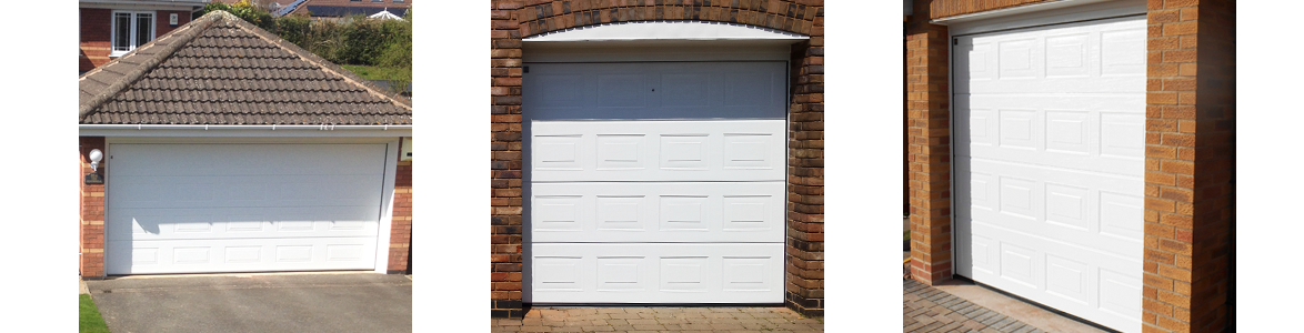 Electrically Operated Sectional Garage Door Prices from The Garage Door Centre