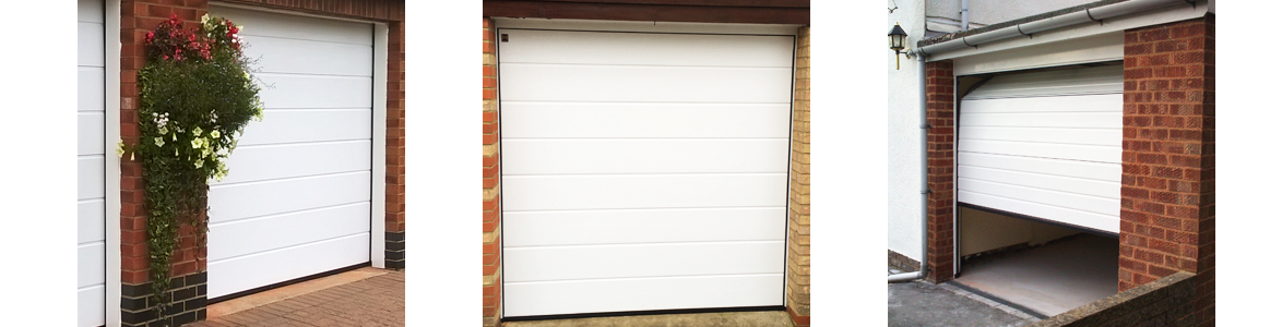 Manual Sectional Garage Door Prices from The Garage Door Centre
