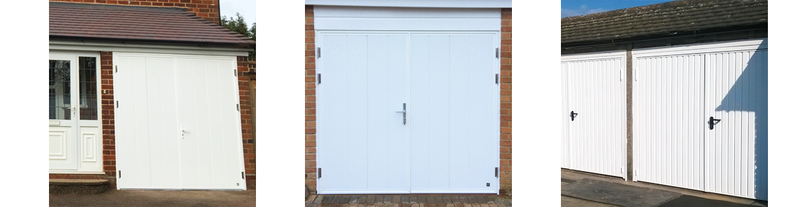 Side Hinged Garage Door Prices from The Garage Door Centre