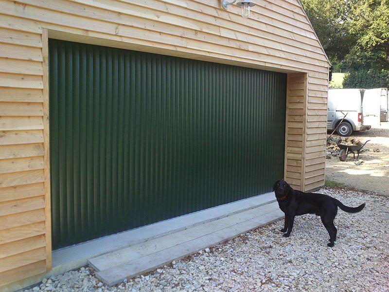 wall mounted garage door round the corner garage doors