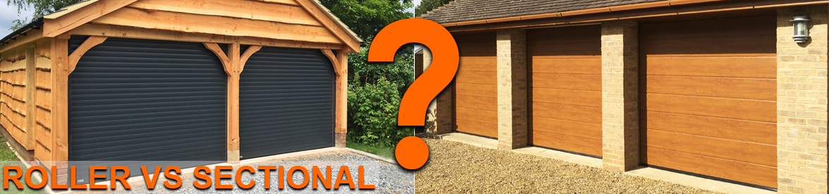 Roller shutter or sectional garage doors