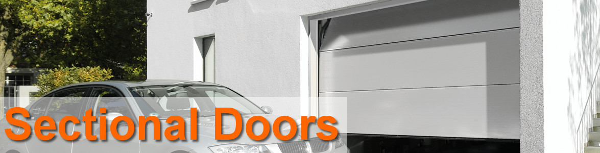 Sectional overhead garage doors from the garage door centre uk for Sectional glass garage door