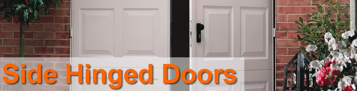 Hinged doors Extra wide front doors