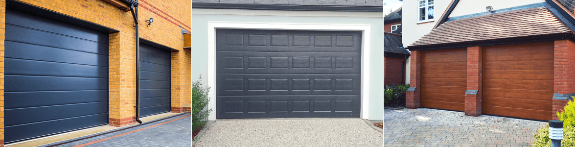 Sectional garage doors offer excellent levels of security