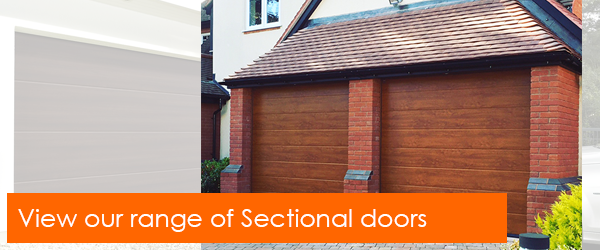 View our range of sectional garage doors