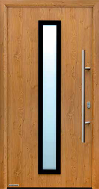 Hormann Front Entrance Door - Thermo 65 Style 600