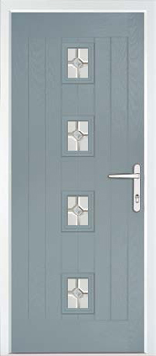 Hormann Front Door - ThermoComp, Cottage Range, Style TR2F