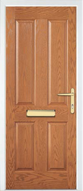 Hormann Front Door - Thermocomp, Traditional Range, Style TR37