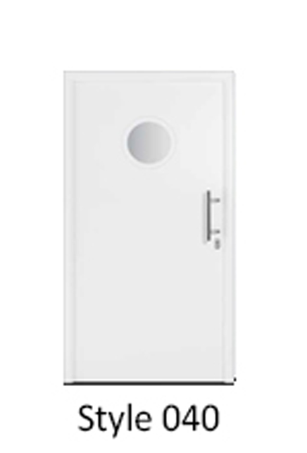 Hormann Thermopro Thermo 46 Style 040 Steel door for the home