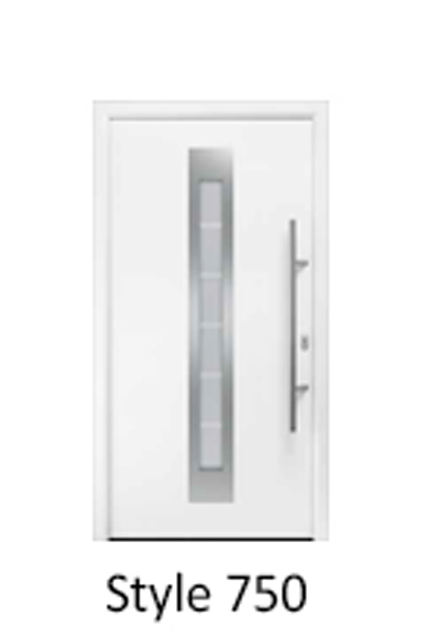 Hormann Thermopro Thermo 46 Steel Door for the home Style 750