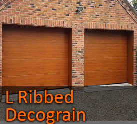 Hormann M Ribbed Sectional Garage Doors