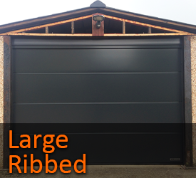 Hormann Large Ribbed Sectional Garage Doors