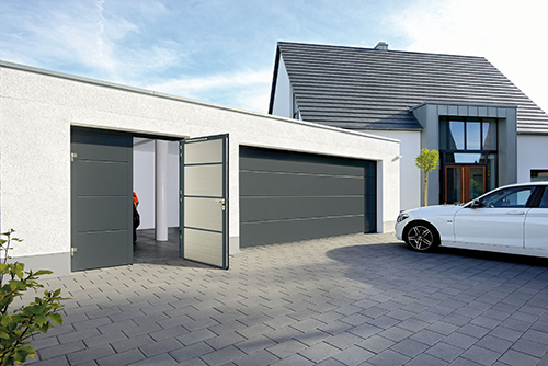 Hormann side hinged garage door