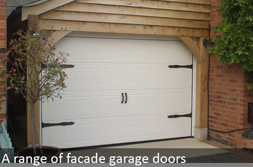 Hormann facade garage doors