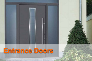 Entrance doors - The Garage Door Centre
