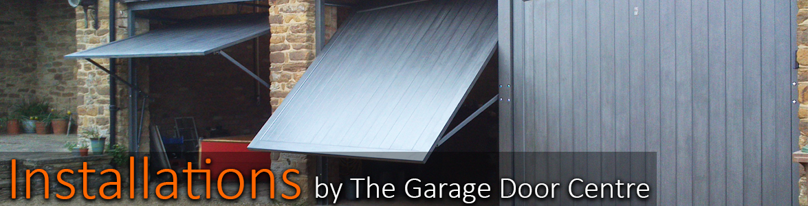 Installations by The Garage Door Centre