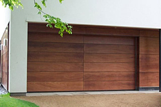 Double Horizontal Timber Sectional
