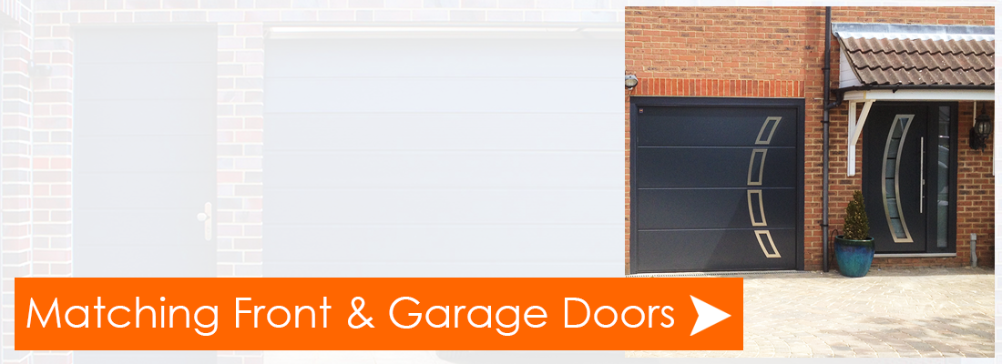 Matching Garage and Front Entrance Doors