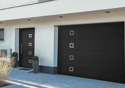 Ryterna Matching Garage and Entrance Doors
