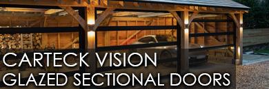 Carteck Vision - Glazed Sectional Door Range