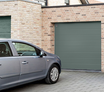 Carteck Sectional Garage Doors can be finished in Farrow and Ball colours