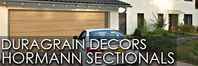 Duragrain Decors for Hormann Sectional Garage Doors