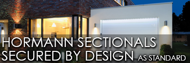 Hormann sectionals now Secured by Design as standard