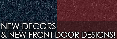 New decors and front door designs from Hormann