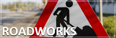 Roadworks and alternative routes