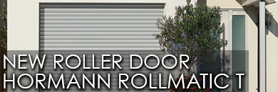 Hormann Rollmatic T new roller door