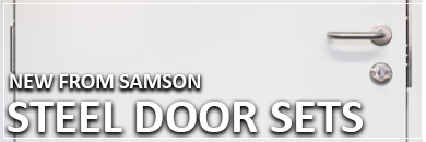 Samson Steel Pedestrian Door Sets