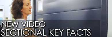 Video about sectional garage doors produced by The Garage Door Centre