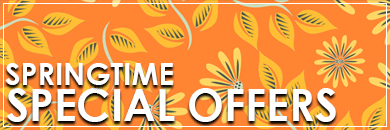 Spring Time Special Offers from The Garage Door Centre