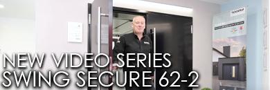 New video series for the Teckentrup 62-2 Swing Secure side hinged garage door