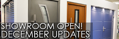 The Garage Door Centre December Updates - Showroom Open!