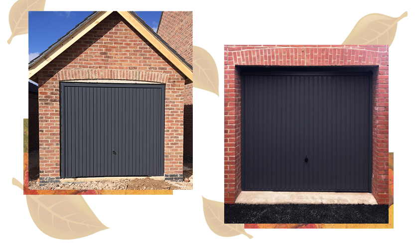 Hormann 2001 Up & Over doors in Anthracite