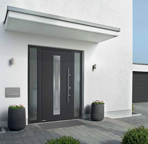Hormann Thermo 46 and 65 Entrance Doors