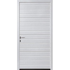 Hormann LPU42 S Ribbed Pedestrian Door