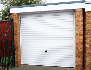 Hormann 2002 horizontal steel garage door