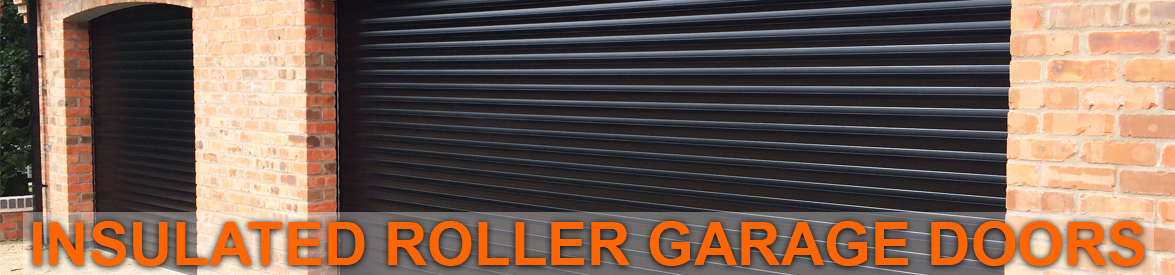 Insulated Roller Shutter Garage Doors from The Garage Door Centre