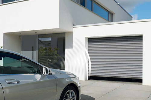 Insulated, aluminium roller doors with automated electric operation