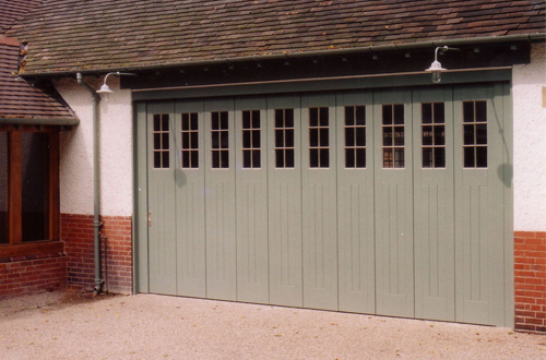 Timber Round The Corner Garage Doors The Garage Door Centre