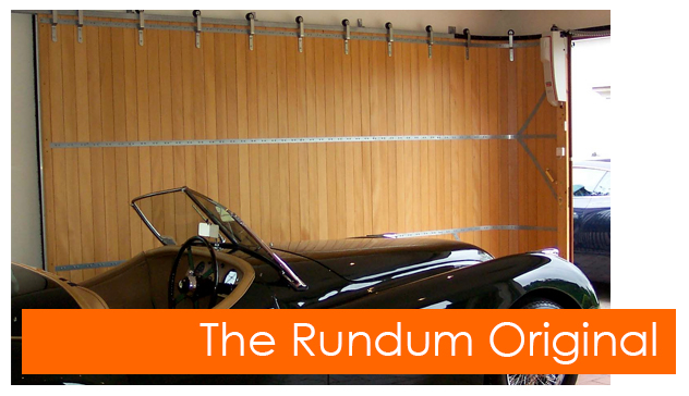 The Rundum Meir original side sliding garage door