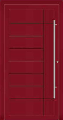 Ryterna RD80 RD100 Front Entrance Doors - Style 214