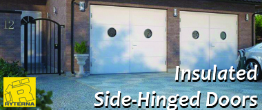 Ryterna Insulated Side-Hinged Garage Door