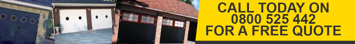 Call Today on 0800 585 442 - The Garage Door Centre