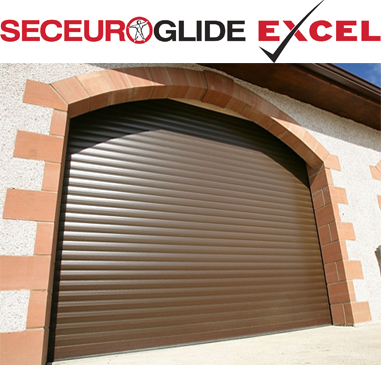 SeceuroGlide Excel Roller Door - Secured by Design