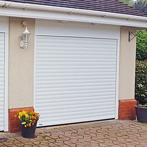 SeceuroGlide Excel insulated and secure roller garage door