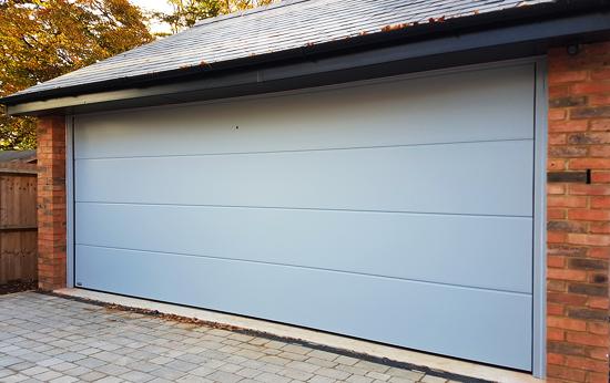 The Garage Door >> Sectional Overhead Garage Doors Gallery Hormann Lpu40 Overhead